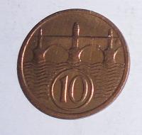 ČSR 10 Haléř 1929, stav