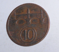 ČSR 10 Haléř 1935