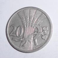 ČSR 20 Haléř 1921, stav
