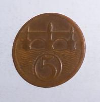 ČSR 5 Haléř 1927