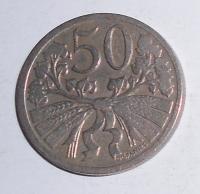 ČSR 50 Haléř 1927, stav