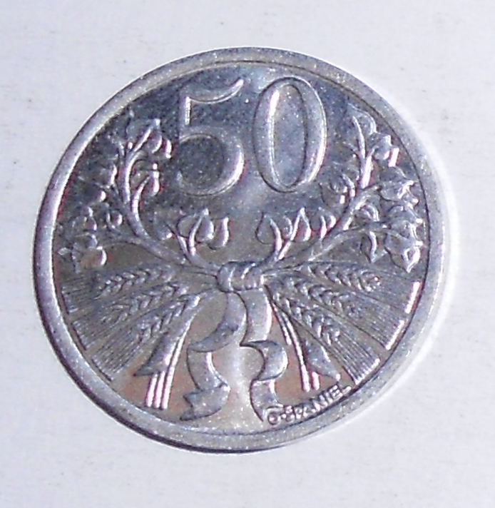 ČSR 50 Haléř 1951, stav