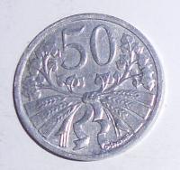 ČSR 50 Haléř 1952, stav