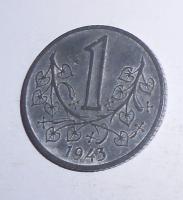 P-Č+M 1 Koruna 1943