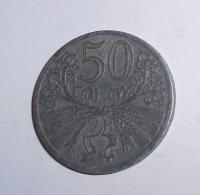 P-Č+M 50 Haléř 1940
