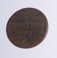 Rakousko 1/4 Krejcar 1777 G František Lotrinský