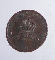 Rakousko 1 Centesimi 1822 M František II.