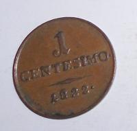 Rakousko 1 Centesimi 1822 V František II.