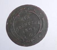 Rakousko 1 Krejcar 1803 H František II., stav
