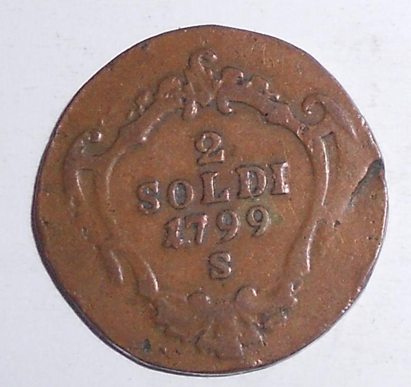 Rakousko 2 Soldi 1799 S František II.