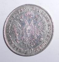 Rakousko 20 Krejcar 1841 A Ferdinand V., měl ouško