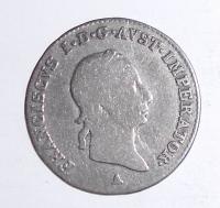 Rakousko 3 Krejcar 1830 A František II.