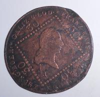 Rakousko 30 Krejcar 1807 A František II.