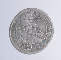Rakousko – Gratz 3 Krejcar 1711 Josef I.