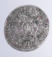 Rakousko – Halle 6 Krejcar 1724 Karel VI.