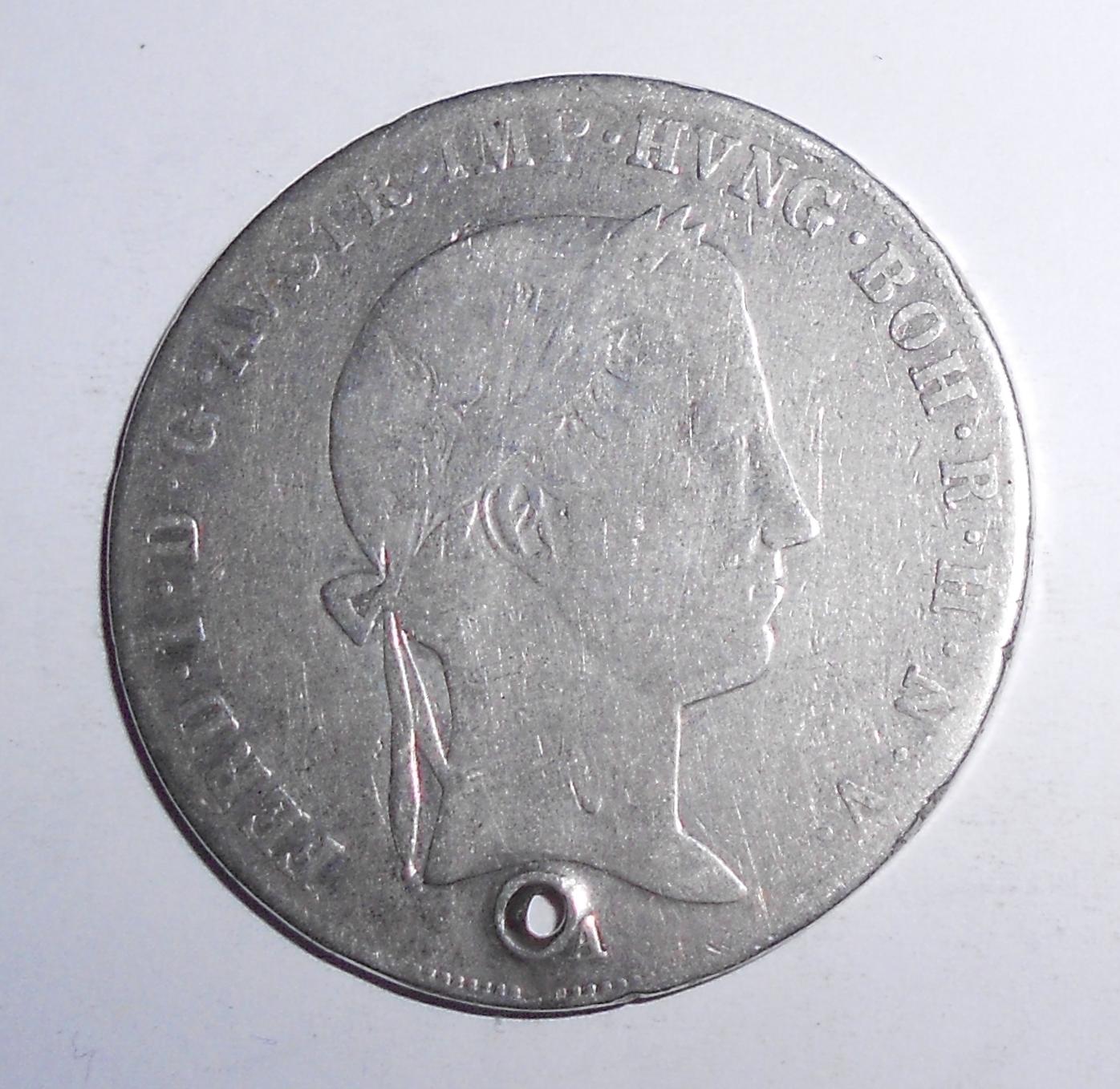 Rakousko Tolar 1841 A Ferdinand V., dirka