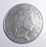 Rakousko Tolar 1841 A Ferdinand V., měl dobové ouško