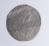 Rakousko – Vídeň 3 Krejcar 1716 Karel VI.