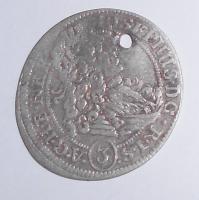 Slezsko – Břeh 3 Krejcar 1707 Josef I.,dirka