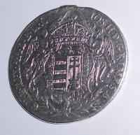 Uhry 1/2 Tolar 1783 B Josef II., měl ouško