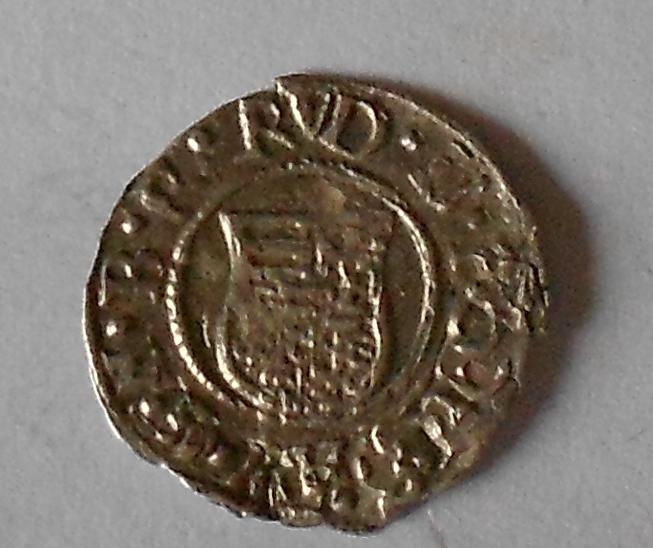 Uhry Denár 1599 KB Rudolf II.
