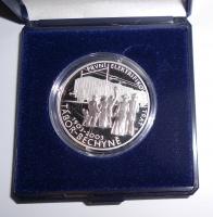 200 Kč(2003-Křižík), stav PROOF, etue a certifikát