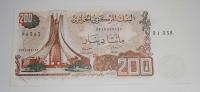 Alžír 200 Dinár 1983