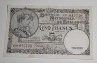 Belgie 5 Frank 1946