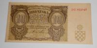 Chorvatsko 10 Kuna 1941