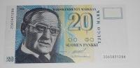 Finsko 20 Marka 1993
