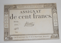 Francie 100 Frank 1795
