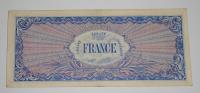 Francie 100 Frank 1944 Okupační
