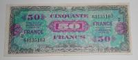 Francie 50 Frank 1944 Okupační