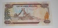 Keňa 200 Schilling 1993