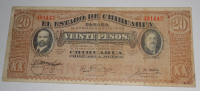 Mexiko 20 Pesos 1914