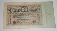Německo 1 Miliarda Marka 1923