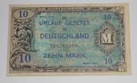 Německo 10 Marka 1944 Okupační