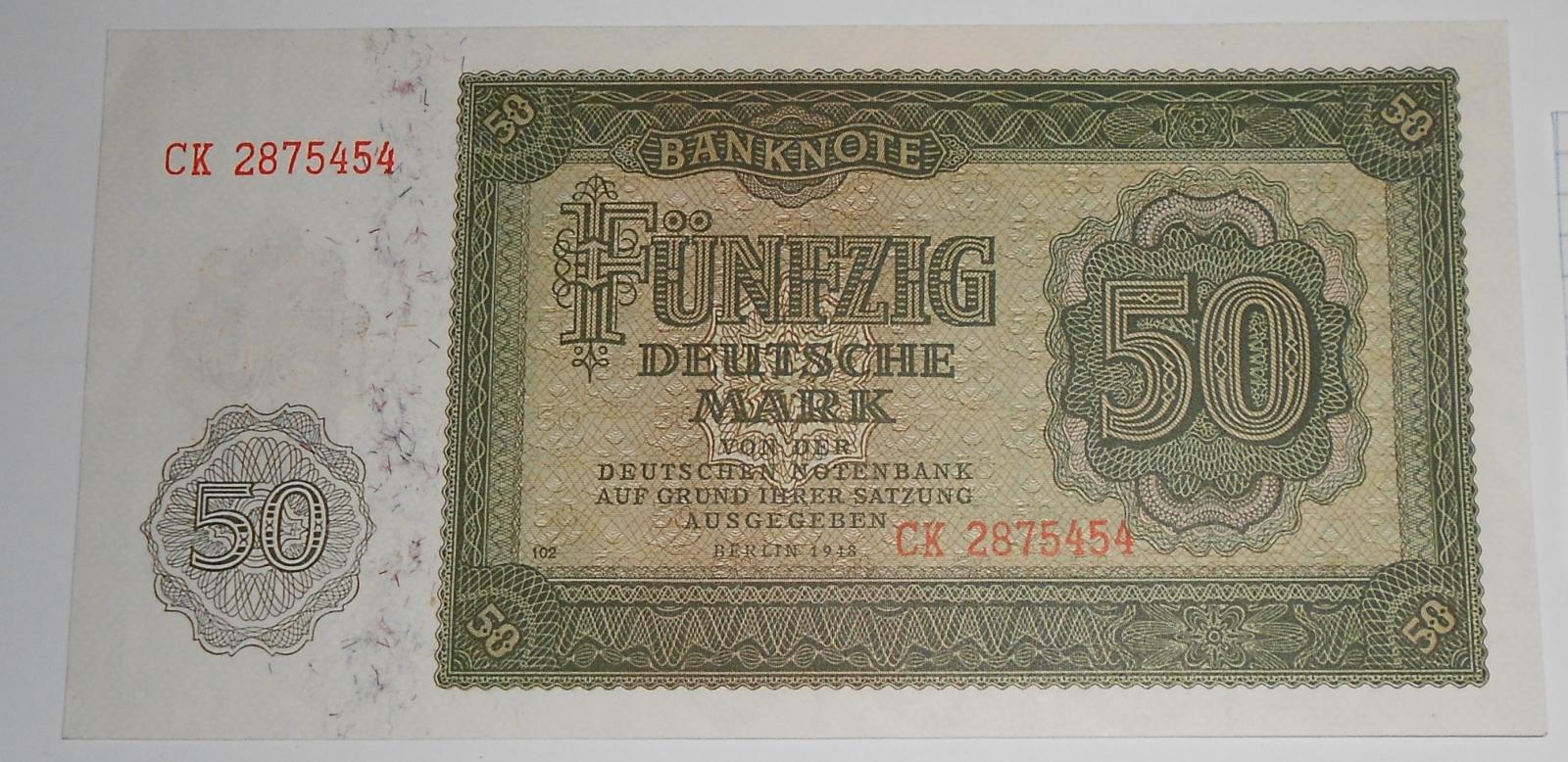 Německo 50 Marka 1948