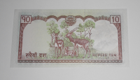 Nepál 10 Rupie Lamy