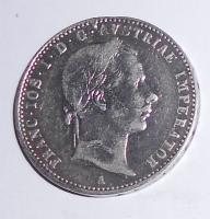 Rakousko 1/4 Zlatník/Gulden 1857 A