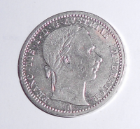 Rakousko 1/4 Zlatník/Gulden 1862 A