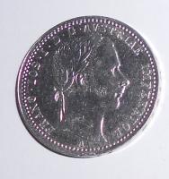 Rakousko 1/4 Zlatník/Gulden 1862 A, stav