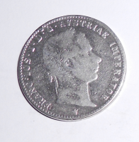 Rakousko 1/4 Zlatník/Gulden 1862 V