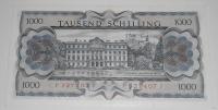 Rakousko 1000 Schilling 1966