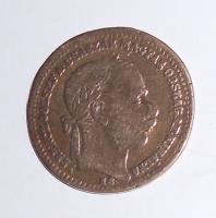 Rakousko 20 Krejcar 1868, dobové ouško