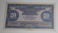 Rakousko 20 Schilling 1944, okupační