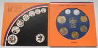 Ročníková sada oběžných mincí ČSSR (1990), stavy 0/0