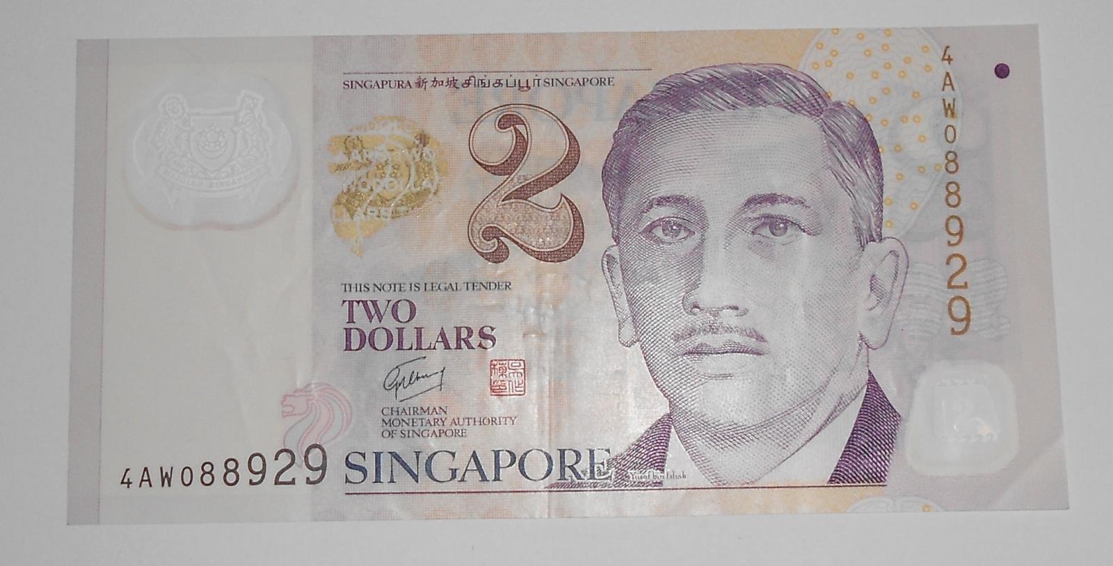 Singapur 2 Dolar Studenti