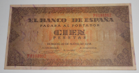 Španělsko 100 Peseta 1938