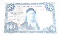 Španělsko 500 Peseta 1954